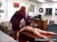 Alluring Spanking Chick Fetish Sex
