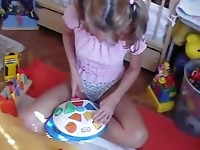 Pretty adult baby girl spanking and diapered - visit diaperdownloads.x2.to