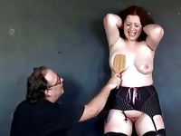 BBW Slaveslut Rosies Breast Whipping To Tears