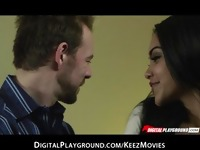 After a blind date Selena Rose gives up some of her juicy pussy