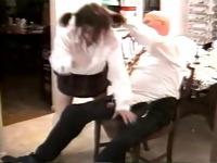 Mireck spanked granddaughter