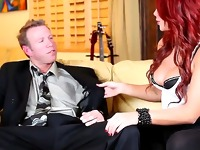 Brooklyn Lee always did know how to get right to the point. So, I wasnt surprised when, upon being asked to seduce Mark, the first thing she did was whip out and suck his cock.