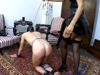 100% Thrashed - Multiple BDSM Caning Scenes &ndash Part 01