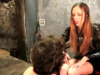 Dirty foot domination from one of the FemdomCommand women