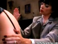 Spanking At The Office