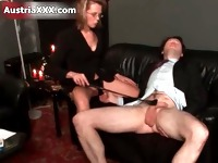 Dirty mature whore goes crazy spanking