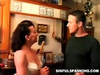 Mean Spanking Fetish