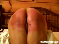 Merciless Spanking of Mature Woman
