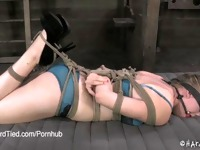 Young Blonde Tracey Sweet Gets Flogged in Bondage