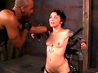 Zealous ass whipping for babe