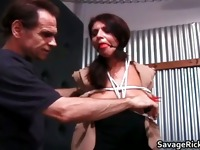 Hot sexy nasty MILF brunette babe gets part5