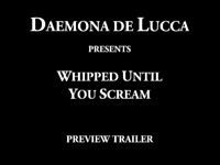 Whipped until you scream (trailer)